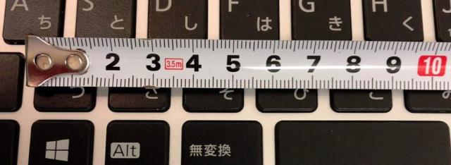 FUTRO MS936キーボードアップ