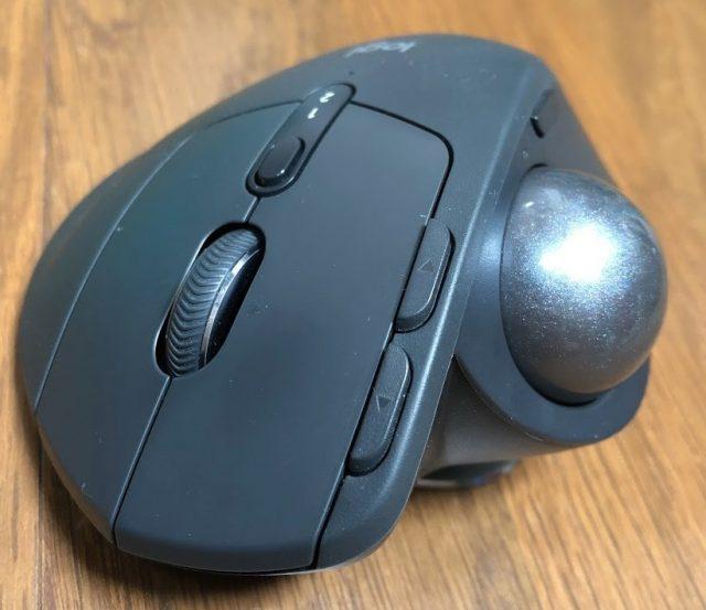 M570tを愛用しているトラックボールユーザーがMX ERGOをレビューしてみる MX ERGO外観